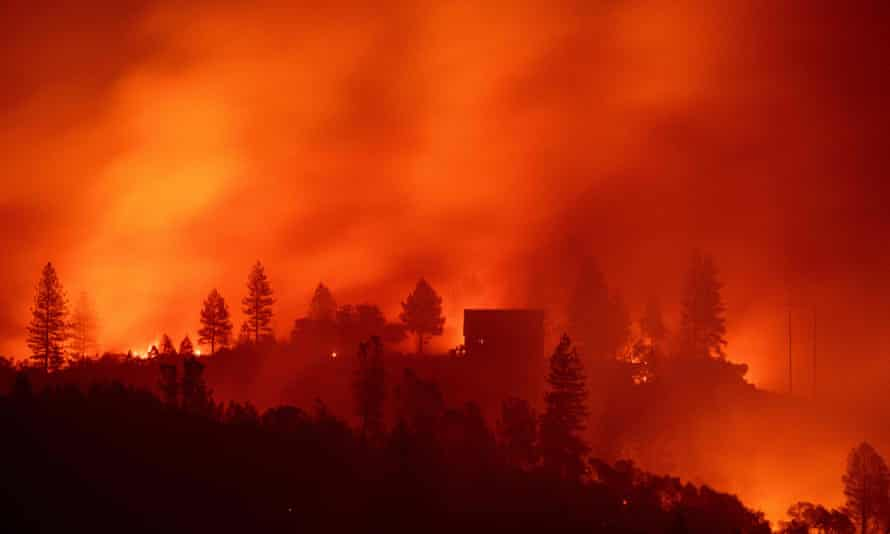 Black Friday does not refer to the charred landscape of California but to the country's biggest shopping day when the Trump administration decided to sneak out a major climate science report.