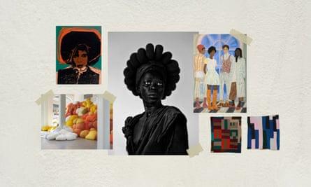 From left – Andy Warhol, Sheila Hicks, Zanele Muholi, Toyin Ojih Odutola, We Will Walk