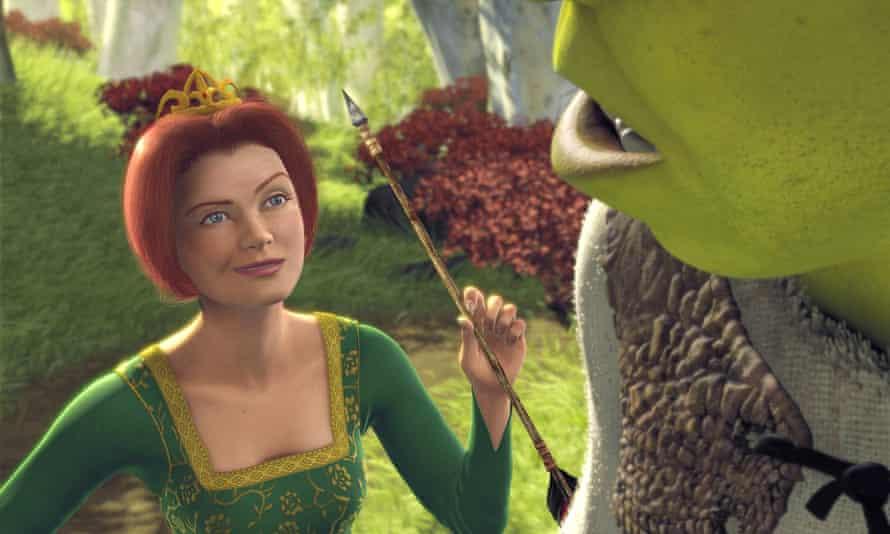 PRINCESS FIONA در فیلم انیمیشن