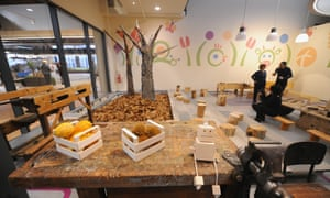 Classrooms and pavilions abound at Fico Eataly World.
