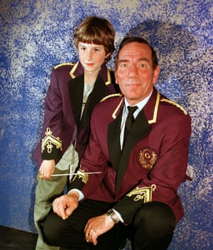 'I fell asleep during his Macbeth' … Billy and Pete Postlethwaite at the time of Brassed Off.