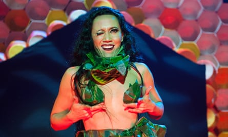 Gives a feminist makeover to circus, hip-hop and burlesque … Hot Brown Honey