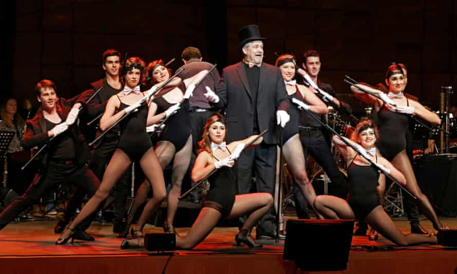 Philip Quast and company in Follies In Concert at Melbourne Recital Centre
