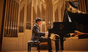 Pianist Eric Lu, who has won the 19th Leeds piano competition.