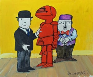Still from Mr Benn, a 1970s cartoon adventurer.