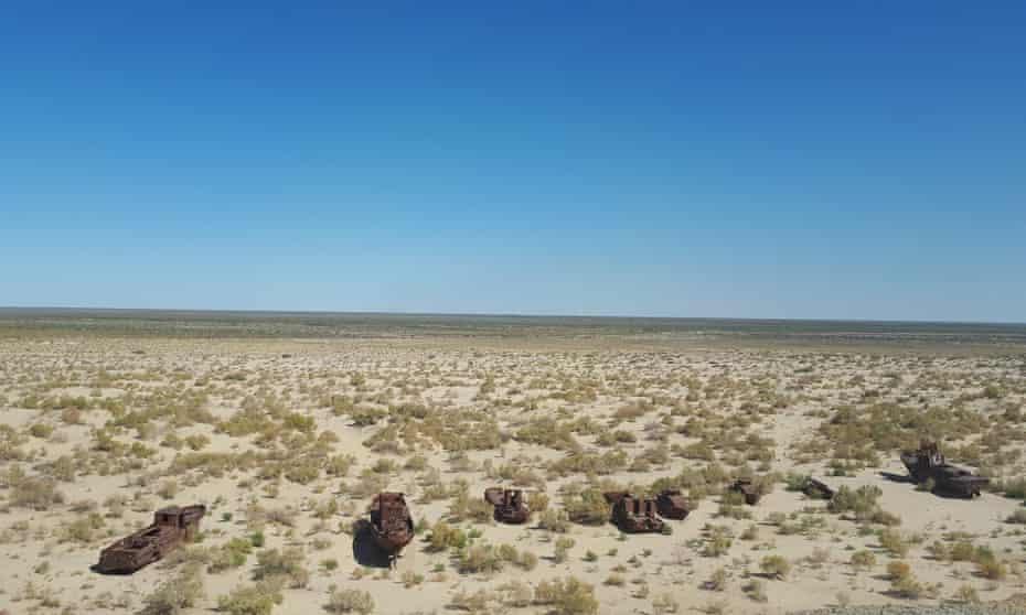 The Moynaq Ship Graveyard in Uzbekistan, where the Stihia festival will take place.