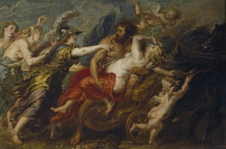 The Rape of Proserpina by Pieter Paul Rubens, 1636-1638, inspired by Ovid's Metamorphoses