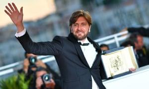 Swedish director Ruben Östlund, winner of the Palme d'Or