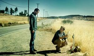 Justin Benson and Aaron Moorhead in The Endless.