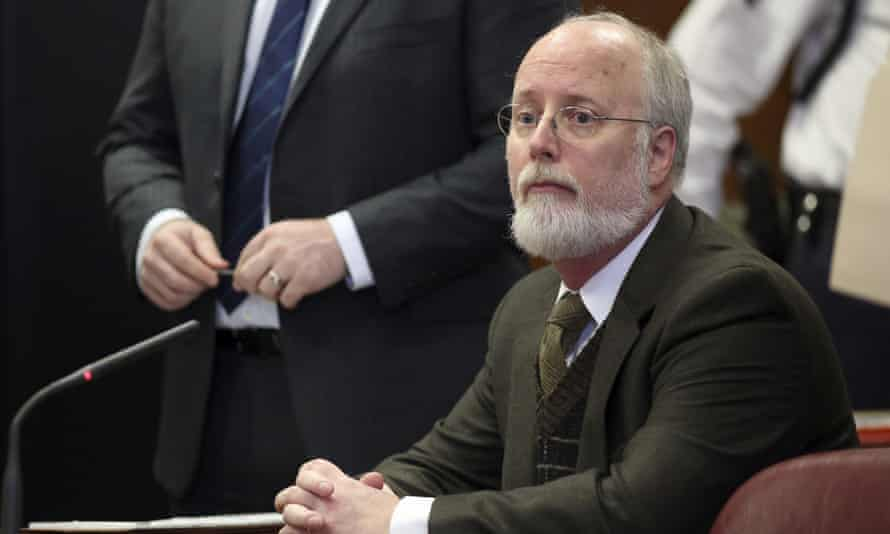Robert Hadden appears in Manhattan supreme court in New York in 2016.