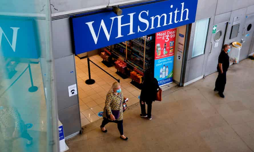 WH Smith store entrance