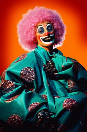 Photo from Cindy Sherman's Clown series from 2003-04