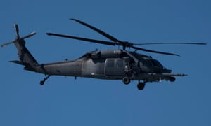a HH-60G Pave Hawk helicopter