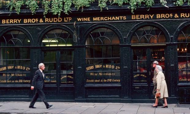 Berry Bros & Rudd Wine Merchants in London