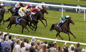 Limato forges clear for a decisive victory in the July Cup at Newmarket