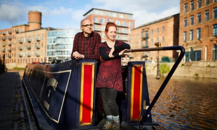 Greg and Frankie Owens … sold up and bought a narrowboat at 43.