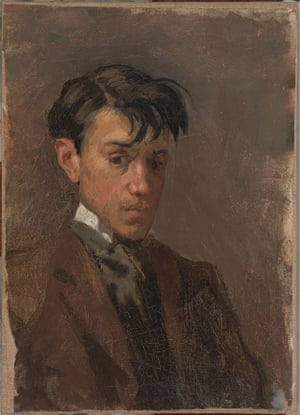 Self-portrait by Pablo Picasso, 1896