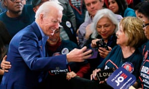 Democrats are hoping Joe Biden can draw on his long experience in politics to appeal to voters