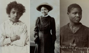 Letitia Frazer, Marie Roberts and Augustus Williams.