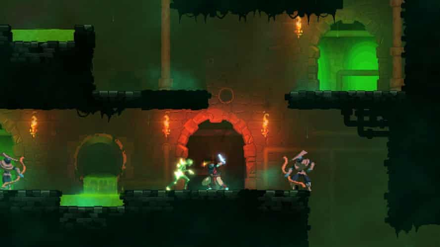 Dead Cells avoids gothic stereotypes – though there are too many acid pools to dodge.