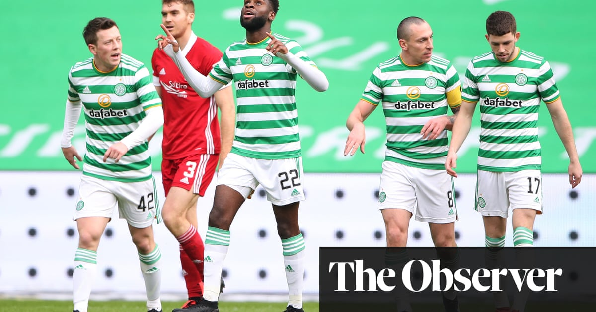 Édouard ensures winning start to life after Neil Lennon for Celtic