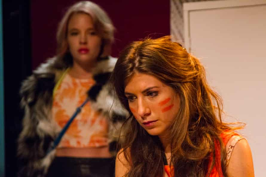 Engaging dialogue … Jessica Clark as Lelani and Alice McCarthy as Alice in Rotterdam.