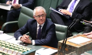 The Prime Minister Malcolm Turnbull during question time in the house of representatives this afternoon. Tuesday 15th September 2015.