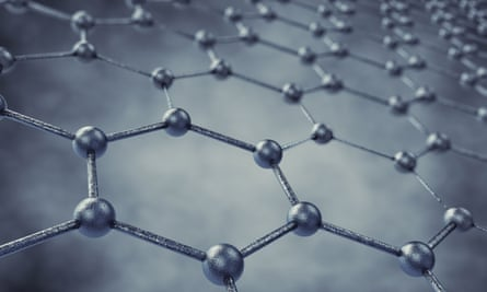 Graphene is a form of carbon made of a single layer of atoms in a hexagonal lattice.
