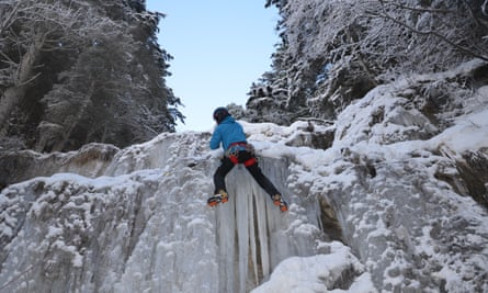 Ice Climbing in France