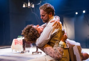 Anna Chancellor and Samuel West in The Seagull at Chichester.