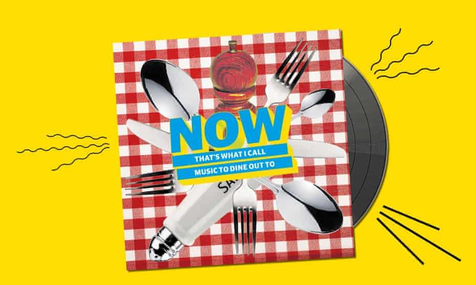 Restaurant music Now mock up