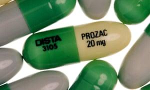 Prozac, an antidepressant