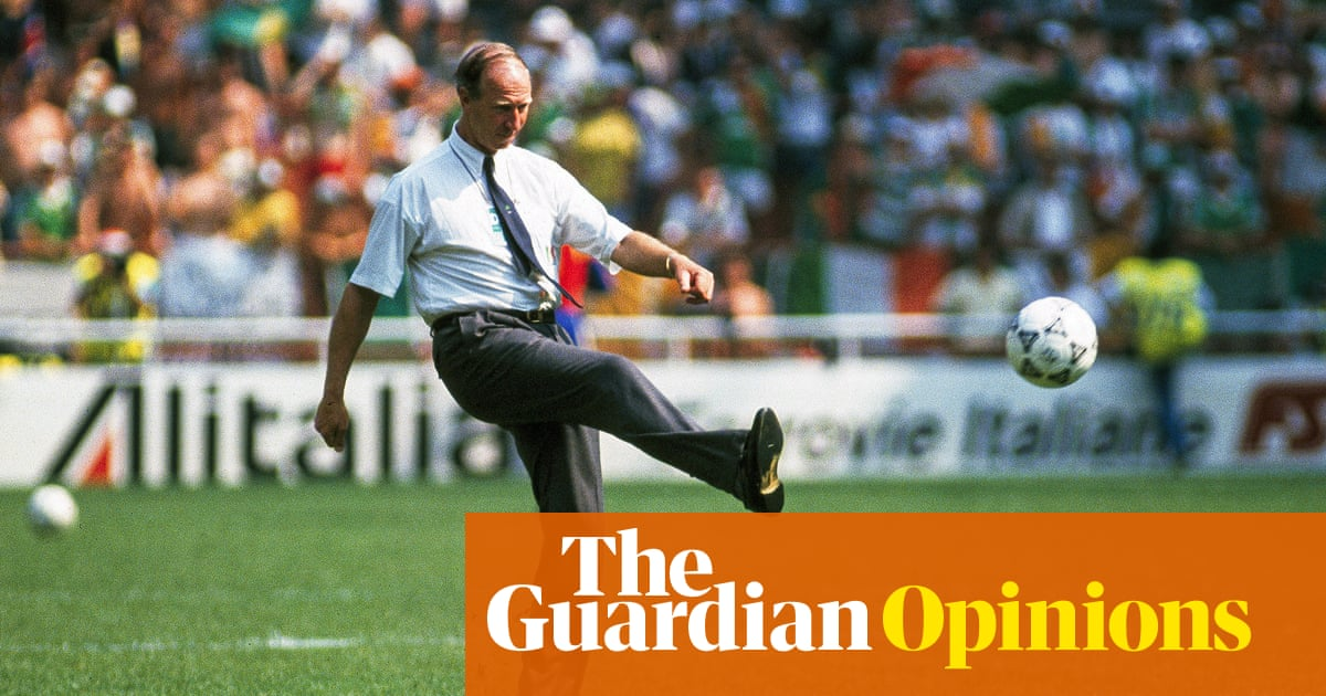 Playing for Jack Charlton was a joy. He gave us moments we will never forget | Kevin Sheedy