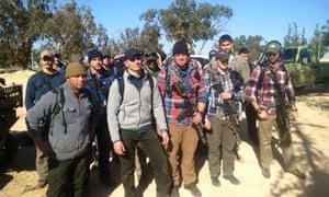 US soldiers in LIbya