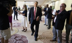 Lou Barletta, the former mayor of Hazleton, Pennsylvania, stands by the anti-immigrant views he had as mayor.