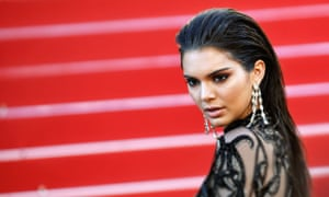 Kendall Jenner was among the festival's list of 'Fyre Starters'.