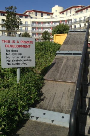 Skatestoppers – because signs alone are not enough. Bristol