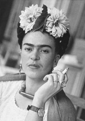 Frida in the dining area, Coyoacán 1941