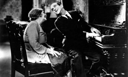 May McAvoy and Al Jolson in The Jazz Singer, 1927