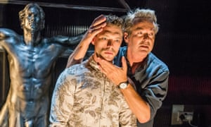 James Nelson-Joyce and Julian Clary in Le Grand Mort at Trafalgar Studios.