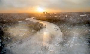 Alternative London ... the Thames becomes the River Azilé.