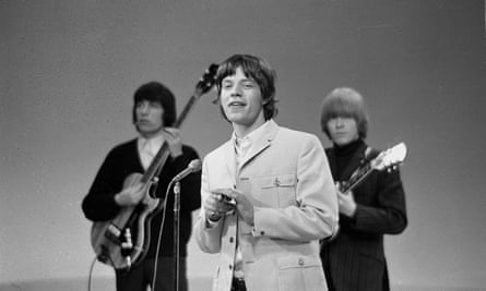 Mick Jagger and the Rolling Stones perform. Image dated May 2, 1965