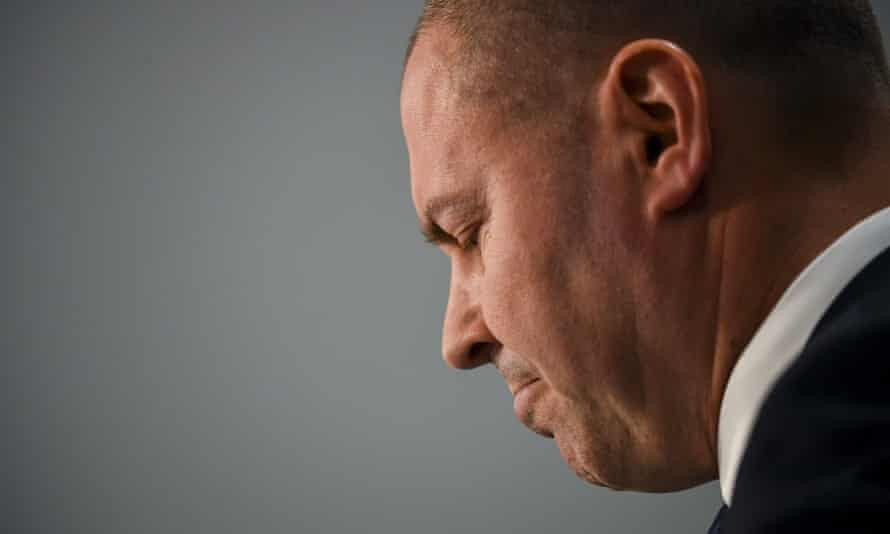 Josh Frydenberg has downgraded the budget position for 2019/2020 but the government is still confident it will post a surplus.