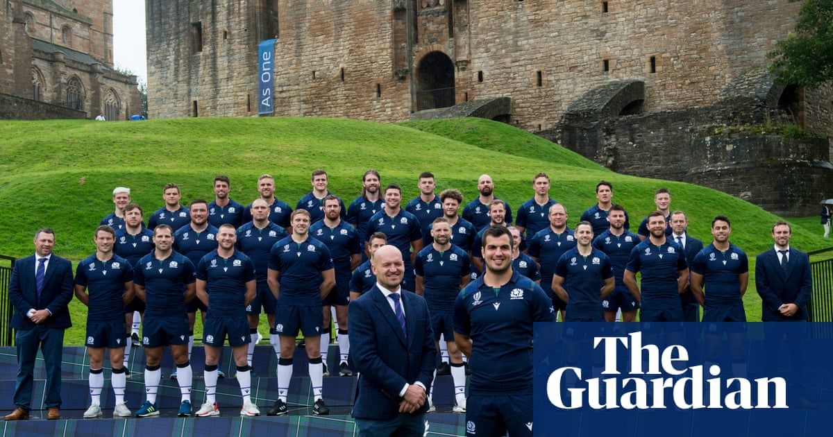 Scotland can match anyone at Rugby World Cup, says Gregor Townsend