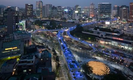 Seoul's Skygarden