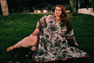 Tess Holliday in her favourite kaftan