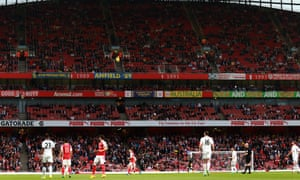 There were plenty of empty seats at the Emirates Stadium during Arsenal's 2-0 win over Sunderland on Tuesday.