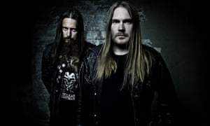 'Don't vote for me' … Fenriz, left, and Nocturno Culto of Darkthrone.