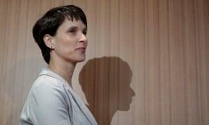 AfD leader Frauke Petry.