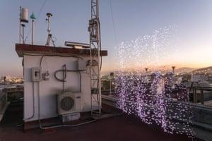 Xalostoc Monitoring Station, Mexico City, Mexico - PM2.5 30 - 40 micrograms per cubic metre